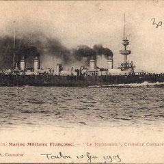 Le croiseur Montcalm