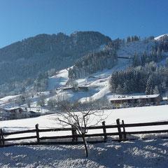Auf dem Weg von Kirchberg nach Kitzbühel, 22.1.2016
