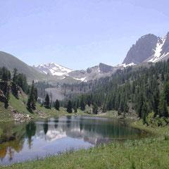 Lac Miroir dans le Queyras