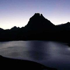 Pic du Midi d'Ossau (2884m) depuis le refuge d'Ayous