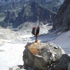 Glacier de Las Néous au pied du Balaïtous
