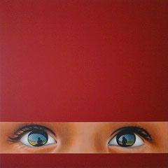 Acrylique et mine graphite sur toile (110x110cm)