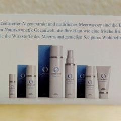 Oceanwell-Produkte bieten die schönste Verbindung von hochwirksamer mariner Kosmetik und Umweltschutz.