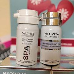 NeoVita - Lotus Premium Hand Mousse* & Skin Nourishing Oil  Verwöhnset für Corona/Winter-geplagte Hände, sehr ergiebig - 42,00 EUR