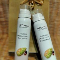 NeoVita - Kaktusfeige & Rosskastanie  Duschschaum* - 12,50 EUR, Body Mousse* - 14,50 EUR
