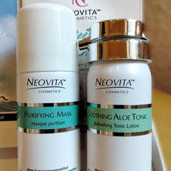 NeoVita - Purifying Mask & Aloe Tonic Set - 29,90 EUR