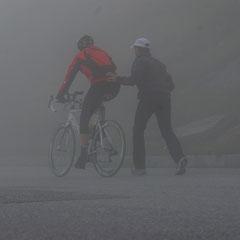Nach dem Regen auch noch Nebel