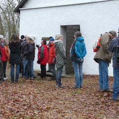 Die Marienkapelle auf dem Holzberg war schon nach 10 Minuten erreicht. (Foto W. Kautz)