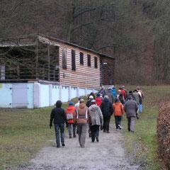 Weiter gings am Rande des Holzbachtals Richtung Südost