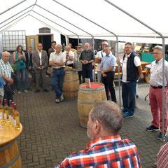 Unter den Gästen die Vertreter der Kommunen, darunter die Bürgermeister von Bad Nauheim und Rockenberg, Armin Häuser und Manfred Wetz, sowie der CDU-Landtagsabgeordnete Klaus Dietz