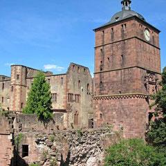 Heidelberg, Torturm und Schildmauer - © Traudi
