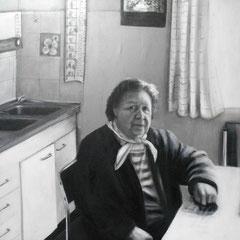 Zivildienst I,  Acryl auf Leinwand,  90 x 130 cm