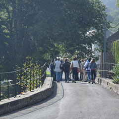 Promenade guidée de Treignes - Pont de Treignes