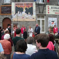 """Vernissage expo """"Ecolier en 44"""" - juillet 2014"""