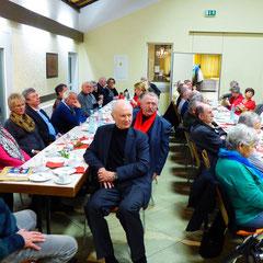 Teilnehmer am Neujahrstreffen 2015 in Hünstetten-Kesselbach