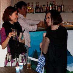 人が人を読んで来てくれるのがパーティのいいところ 『世界は考える』出版記念レセプション Photo by Song Min Soo