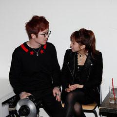 グノさんと彼女 『世界は考える』出版記念レセプション Photo by Song Min Soo