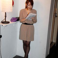 狙いすました一枚 『世界は考える』出版記念レセプション Photo by Song Min Soo