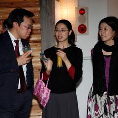 国際的宝石商の大西さん 『世界は考える』出版記念レセプション Photo by Song Min Soo