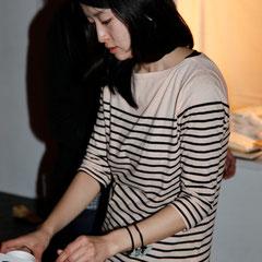 店番ありがとう 『世界は考える』出版記念レセプション Photo by Song Min Soo