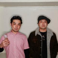 代官山Mオーナーの米田さん 『世界は考える』出版記念レセプション Photo by Kim Gno