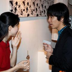 ミュージシャンの二人 『世界は考える』出版記念レセプション Photo by Song Min Soo