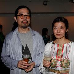 塚田夫妻 『世界は考える』出版記念レセプション Photo by Song Min Soo