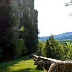 voie royale - Gorge Saint-Christophe