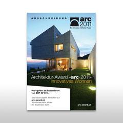 Kunde: Docu Media Schweiz GmbH / Auftrag: Plakat Arc-Award