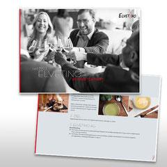 Kunde: Elvetino / Auftrag: Unternehmenspräsentation