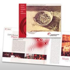 Kunde: Lottostiftung / Auftrag: Jahresbericht