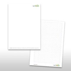 Briefpapier und Schreibblock