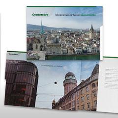 Kunde: Docu Media Schweiz / Auftrag: Imageflyer für Citymark