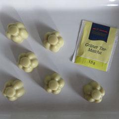 GrünerTee-Matcha-Seife mit Aloe Vera