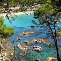 Plages et criques de Begur Costa Brava