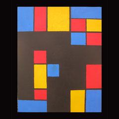 N°26 - Tricolore - 30 x 40  - 80€