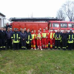 2011 Übung mit Rettungsdienst & FF Genschmar 02.04.