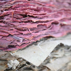 Getrockneter Papierstapel