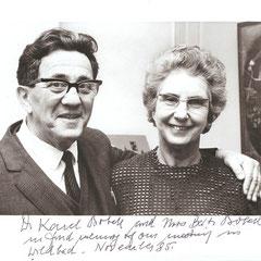 Dr. Karel Bobath und Mrs. Berti Bobath - Erinnerung an meinen Bobath-Kurs 1985