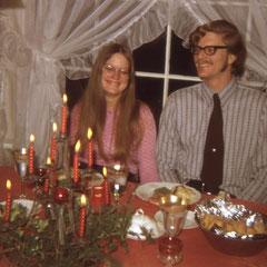 Priska und Tito. Tito hatte damals noch Renate.