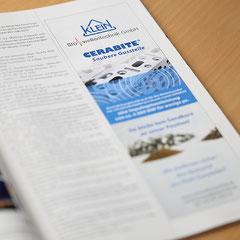 Anzeige in Fachzeitschrift