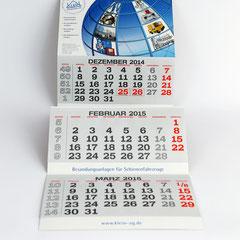 Gestaltung Werbemittel Kalender