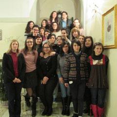 """Le studentesse del Pensionato """"Padre Agostino"""""""