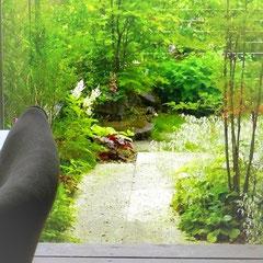 ミヤモリデザイン事務所:庭の施工例「リビングからの眺めを楽しむ庭」