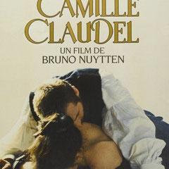Affiche du film Camille Claudel de Bruno Nuytten avec Isabelle Adjani et Gérard Depardieu, 1987.