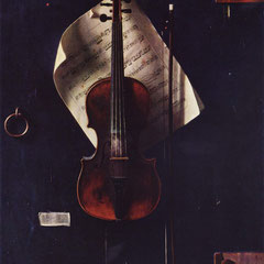 Nature morte de William Michael Harnett, huile sur toile,97 x 61 cm, 1886.