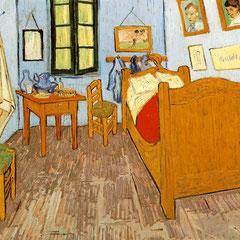 Vincent Van Gogh, La chambre à Arles, 74cmx58cm, 1889.