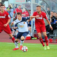 Testspiel: TuS - 1.FC Köln