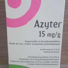 Azyter Augentropfen Abbildung