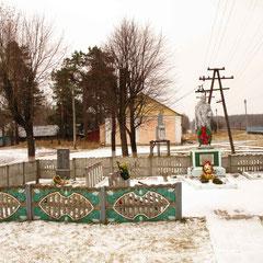 Памятник на братской могиле 498 воинов на ст.Тощица